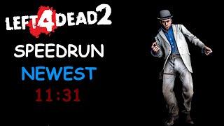 Left 4 Dead 2 Solo Realism Expert Speedrun 11:31 Hard Rain