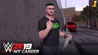WWE 2K19 MY CAREER | #01 - Awans do NXT?