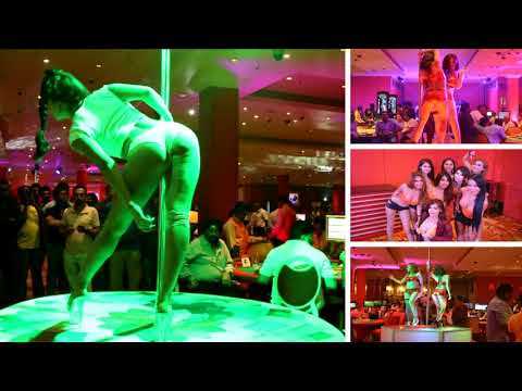 Best pole dance show in Sri Lanka # Ballys Casino Colombo Sri Lanka
