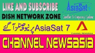 New FTA Channel NewsAsia On AsiaSAT 7 - Dish Network Zone