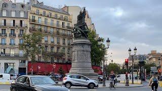 Place de ClichyからSaint-Lazare まで