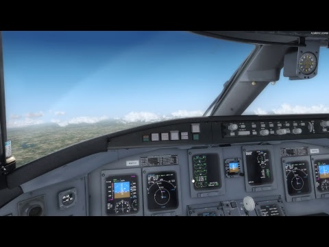 Peoria Il to Palm Beach Fl in CRJ700 X from Aerosoft (FULL FLIGHT)
