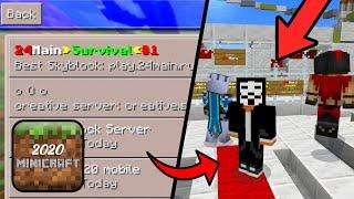 Best SKYBLOCK Server in Minicraft 2020 - AWESOME ONLINE SERVER screenshot 3
