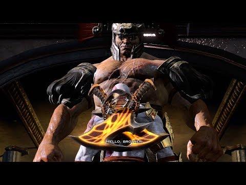 God of War 3 PS4 - Kratos vs Hercules Boss (1080p 60fps)