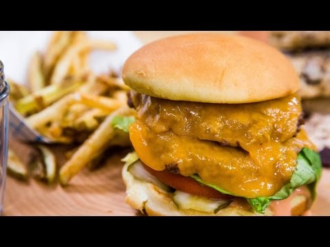 How to Make the Ultimate Healthy Burger and Fries