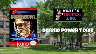 Mort's Tecmo 101 Video Series - Defend Power T Dive