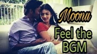 Moonu / Feel the bgm / 30 seconds Whatsapp status / Dhanush / Sruthi hassan / Anirudh Ravichander