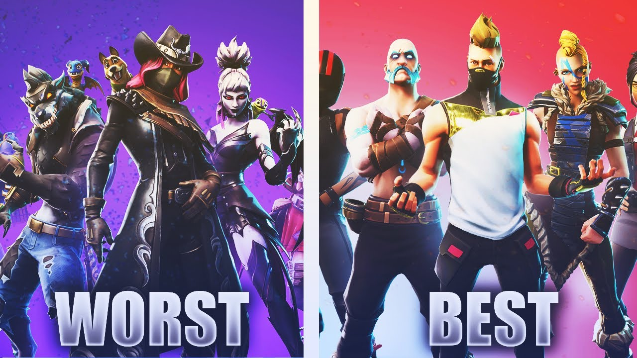 Ranking ALL the Fortnite Seasons from WORST to BEST!