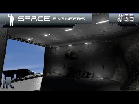 Let's Play Space Engineers - Episode 35: Lighting Work & Channel Talk