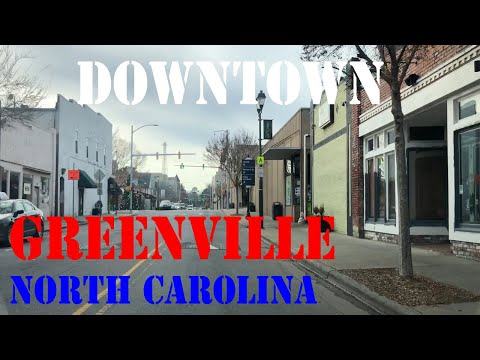 Downtown Drive - Greenville, North Carolina