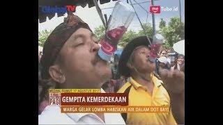 Lucu! Rayakan Kemerdekaan, Puluhan Bapak Bapak Ikuti Lomba Ngedot - BIP 18/08