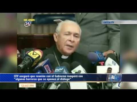 """CEV aseguró que reunión con el Gobierno romperá con """"algunas barreras que se oponen al diálogo"""""""