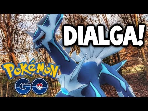 CATCHING DIALGA: EASY OR HARD?! POKÉMON GO DIALGA RAIDS!