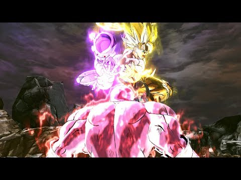 Goku & Frieza Vs Jiren In Dragon Ball Xenoverse 2