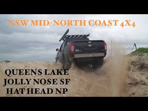NSW Mid-North Coast 4X4 Adventure - Queens Lake, Hat Head NP, Jolly Nose SF