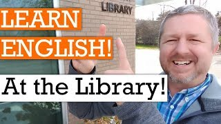 Let's Learn English at the Library | English Video with Subtitles