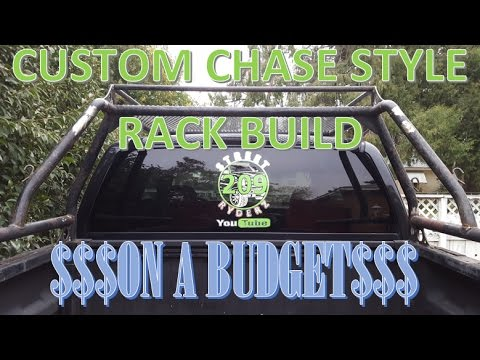 Custom Chase Rack Build Using A Lumber Rack Part 1 Youtube