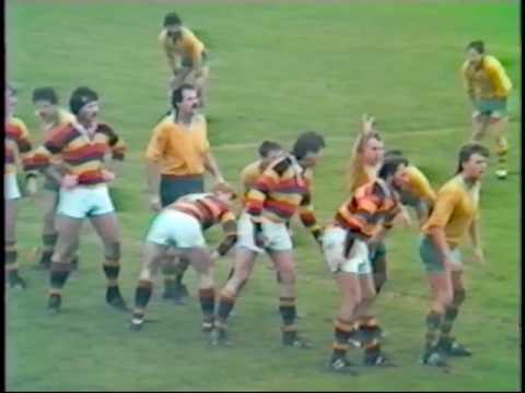 Green Island vs Zingari Seniors & Senior Reserve 17 May 1986
