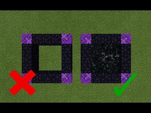 portals to make in minecraft pe