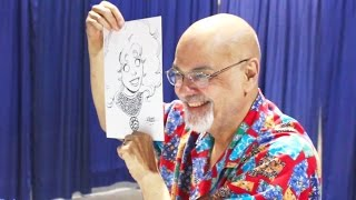 George Perez Starfire Sketch - Long Beach Comic Expo 2017
