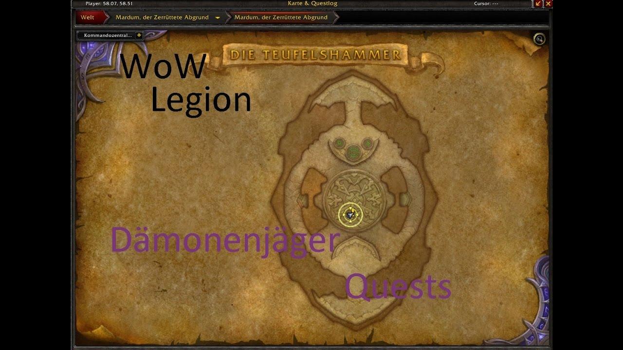 Izocke Wow Legion Klassenquests Dämonenjäger 058 Zusätzliche
