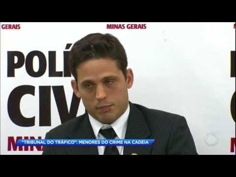 Traficantes matam jovem em tribunal do crime em Minas Gerais