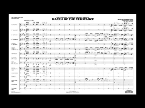 March of the Resistance by John Williams/arr. Paul Murtha