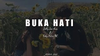 Gambar cover BUKA HATI - YURA YUNITA (Cover by Billy Joe Ava ft Feby Putri NC) | Lirik