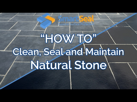 (full version) 'How To' Clean, Seal and Maintain Natural Stone & Sandstone Patios