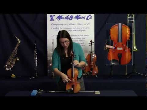 An introduction to the string instrument from Marshall Music Co
