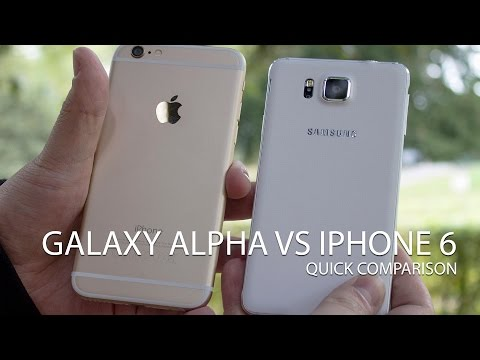 Samsung Galaxy Alpha vs iPhone 6: Quick comparison