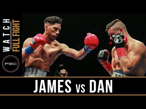James vs Dan FULL FIGHT: July 15, 2017 - PBC on FS1