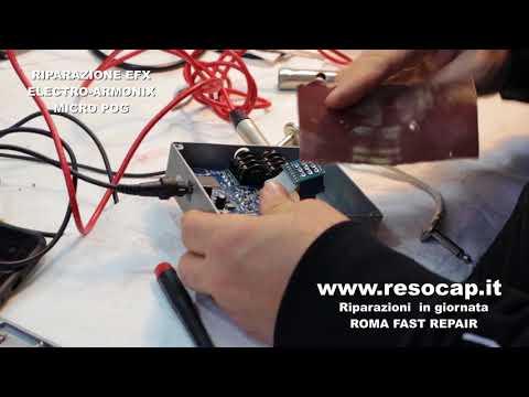 RIPARAZIONE STRUMENTI MUSICALI, Electro Harmonix Micro POG,RIPARAZIONI RAPIDE IN GIORNATA, ROMA