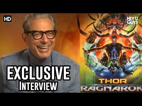 Hilarious Jeff Goldblum - Thor: Ragnarok | Exclusive Interview