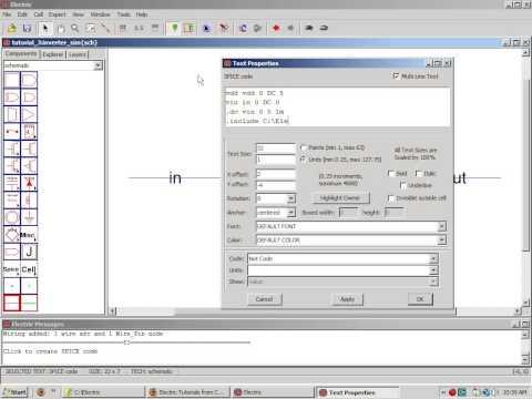Electric VLSI Video Tutorial 3 by Professor Jake Baker