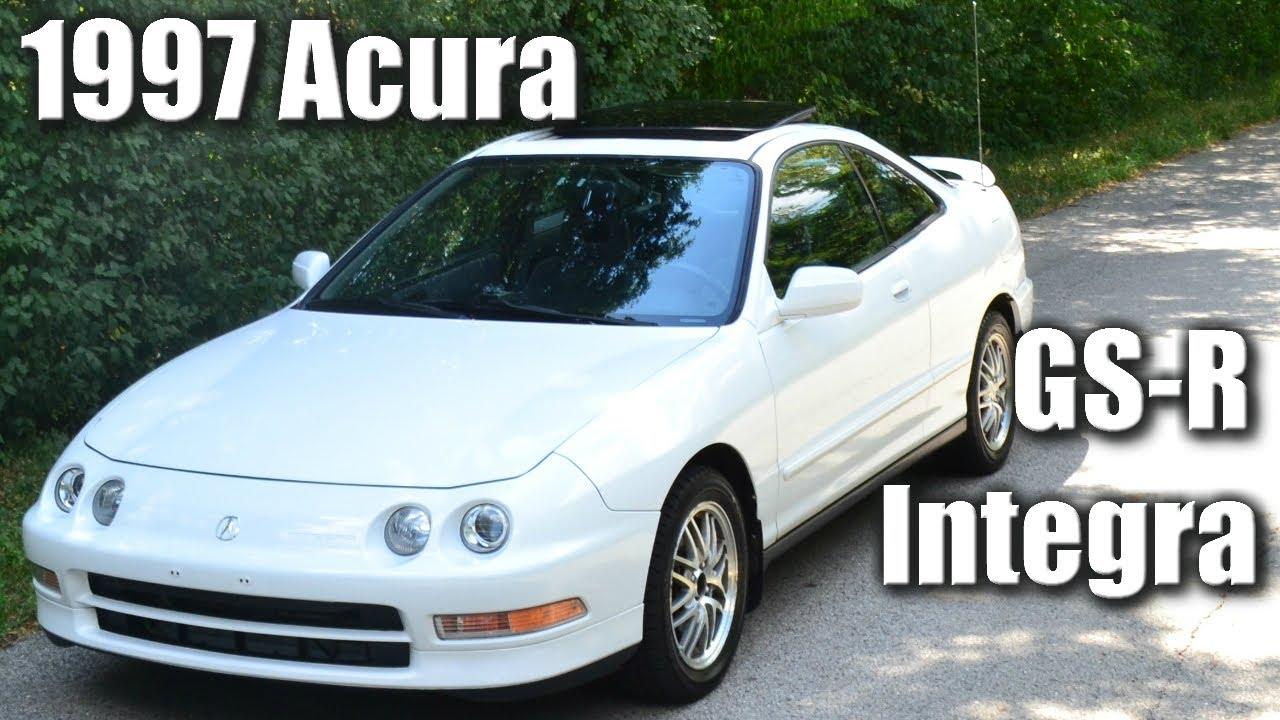 Rare 1997 Acura Integra GSR Restoration  Takoff 7th  YouTube