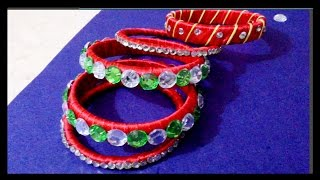 How to make fancy bangles from old bangles