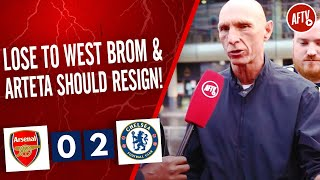 Arsenal 0-2 Chelsea   Lose To West Brom And Arteta Should Resign! (Lee Judges)