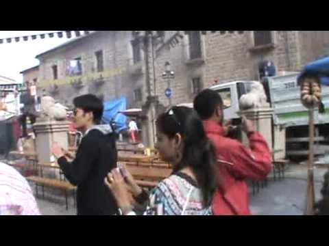 Avila Spain Old City