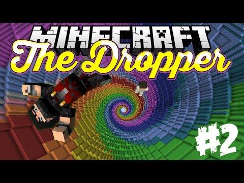 Minecraft The Dropper - ماينكرافت ماب الطيحه #2