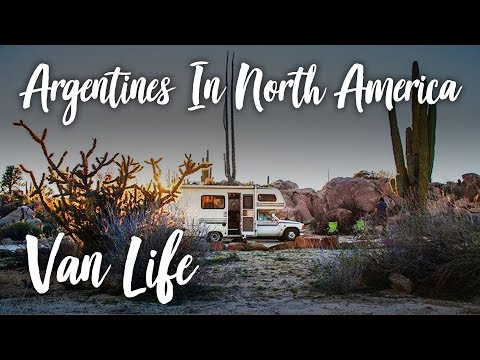 Argentine Couple Sells Everything to Fulltime Travel in North America.