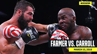 FULL FIGHT | Tevin Farmer vs. Jono Carroll (DAZN REWIND)