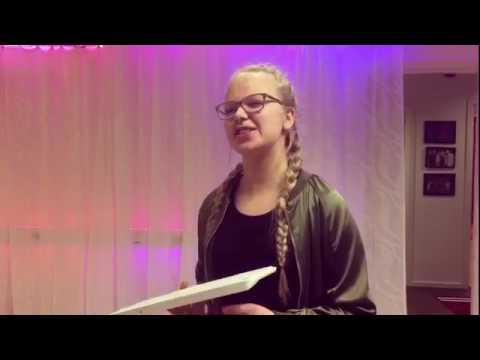 Klara, 13 år, Back From The Edge  James Arthur - COVER