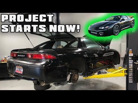 NEW PARTS FOR THE 3000GT VR-4!! MUCH NEEDED...