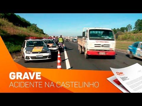 Grave acidente em Rodovia - TV SOROCABA/SBT
