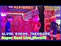 Part 2 Let's Rock with the Chipmunks Alvin, Simon, and Theodore Cool Dance Live show
