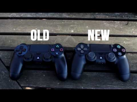 OLD PS4 CONTROLLER VS  NEW PS4 CONTROLLER (COMPARISON) - YouTube