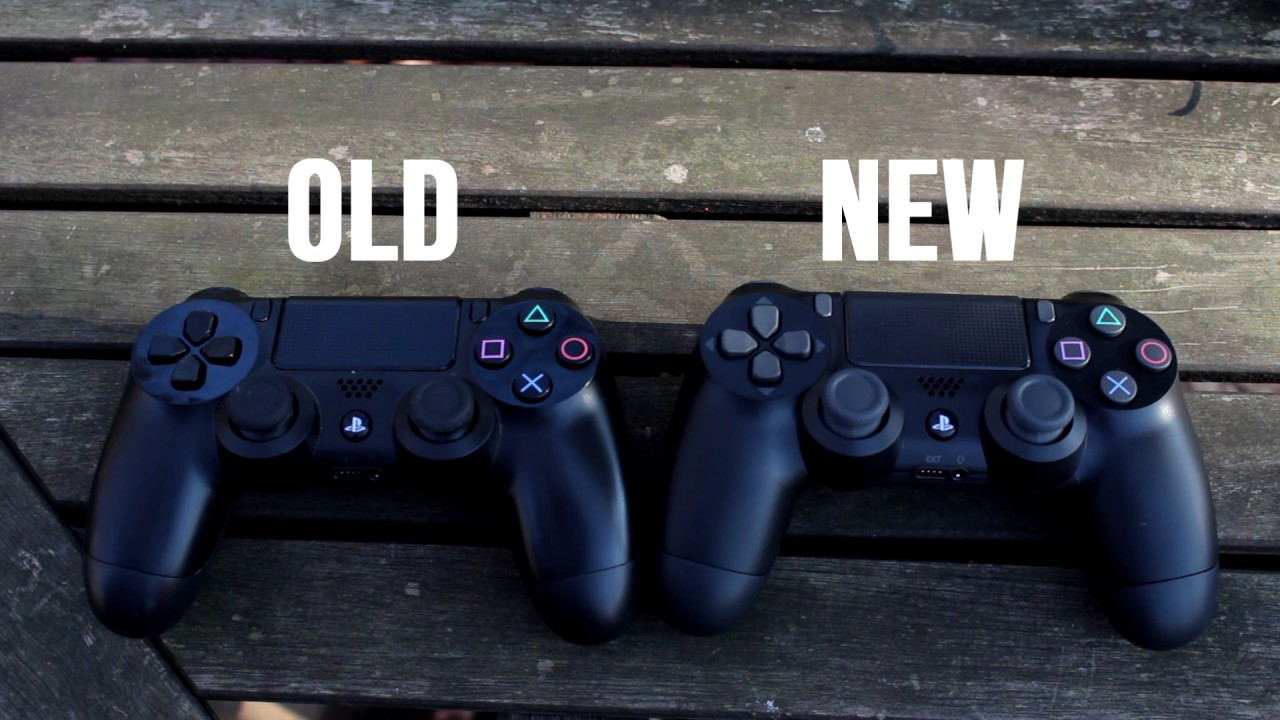 OLD PS4 CONTROLLER VS  NEW PS4 CONTROLLER (COMPARISON)