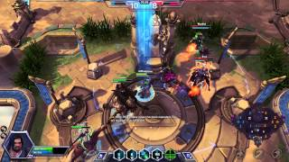 ♥ Heroes of the Storm (Gameplay) - Jim Raynor, Long Range Assault (HoTs Quick Match)