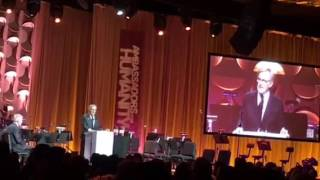 Steven Spielberg's speech at Gala for Ambassadors for Humanity